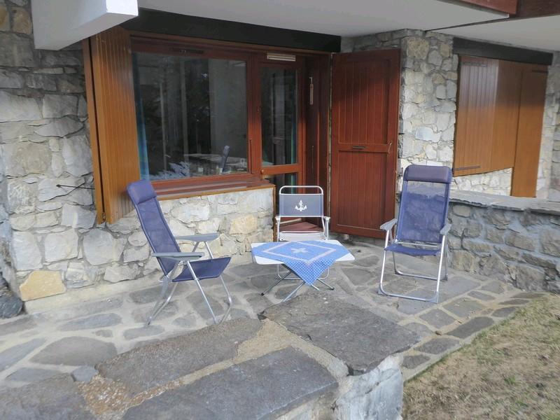 Ski verhuur Appartement 2 kamers 4 personen (027) - Résidence les Côtes - Valmorel - Balkon