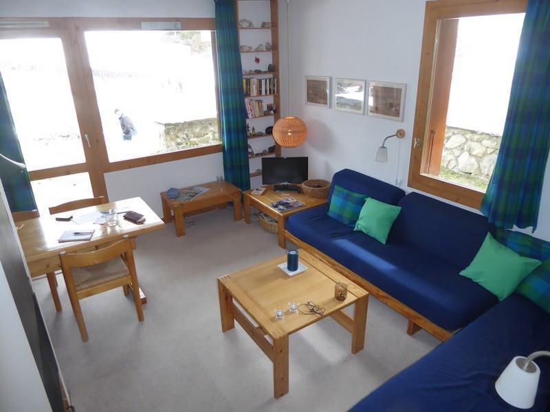 Ski verhuur Appartement 2 kamers 4 personen (027) - Résidence les Côtes - Valmorel - Woonkamer