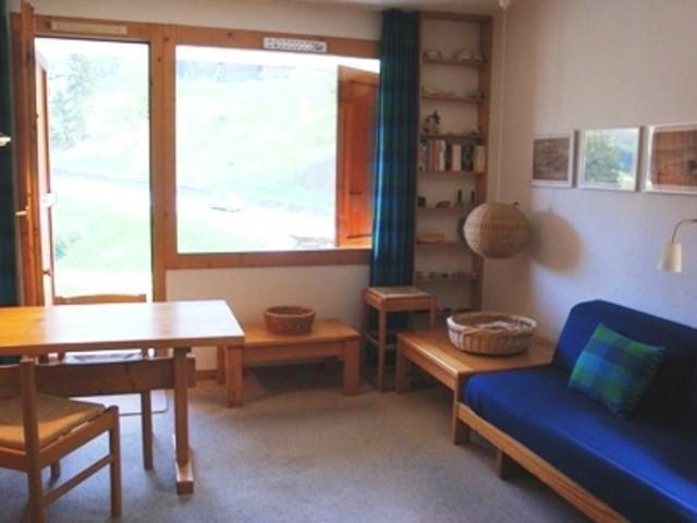 Location au ski Appartement 2 pièces 4 personnes (027) - Résidence les Côtes - Valmorel - Banquette-lit