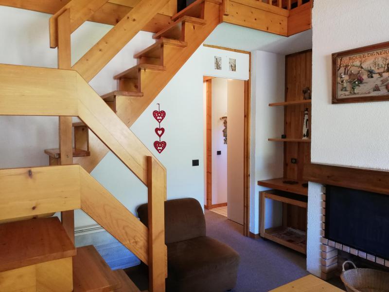 Ski verhuur Appartement duplex 3 kamers 8 personen (026) - Résidence les Côtes - Valmorel - Appartementen