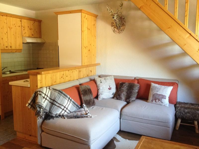 Location au ski Appartement duplex 4 pièces 10 personnes (040T) - Residence Les Cotes - Valmorel - Canapé