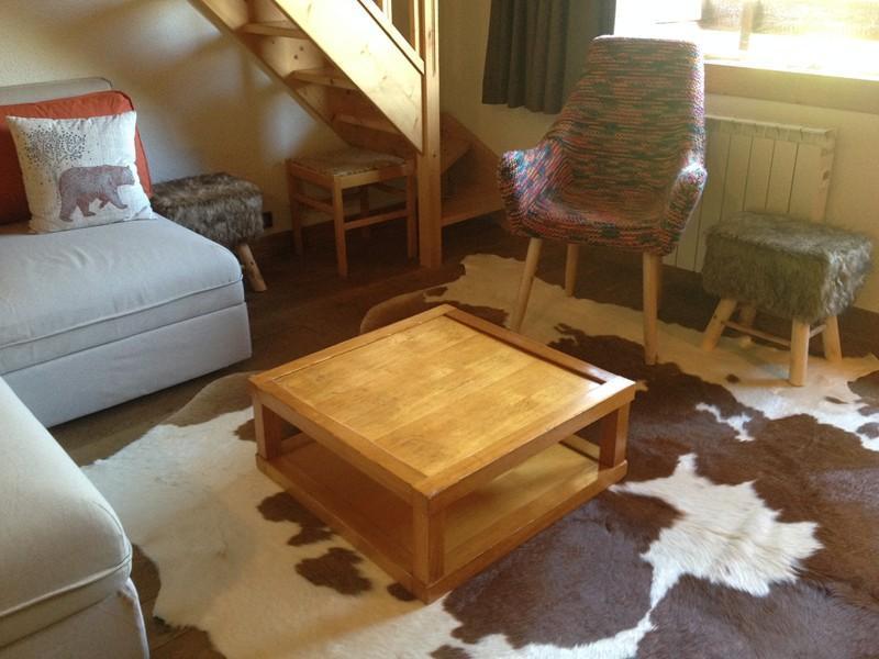 Location au ski Appartement duplex 4 pièces 10 personnes (040T) - Residence Les Cotes - Valmorel - Séjour