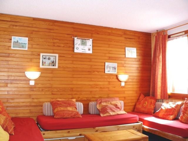 Location au ski Appartement 2 pièces 6 personnes (040) - Residence Les Lauzes - Valmorel - Canapé-lit