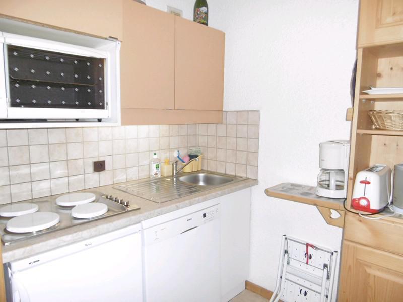 Ski verhuur Appartement 3 kamers 6 personen (023) - Résidence les Lauzes - Valmorel - Keuken