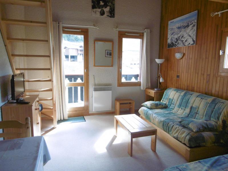 Location au ski Appartement 3 pièces 6 personnes (023) - Résidence les Lauzes - Valmorel - Séjour
