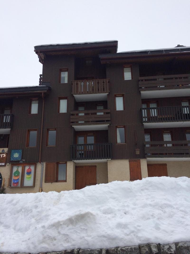 Location au ski Résidence les Pierres Plates - Valmorel - Extérieur hiver