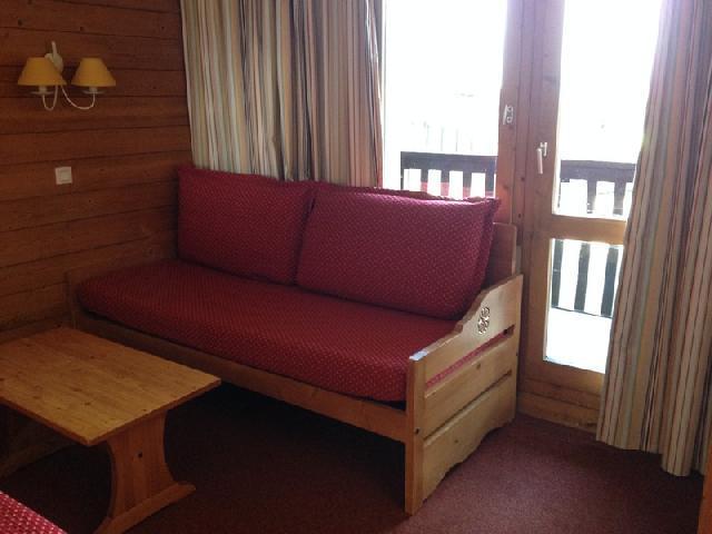 Location au ski Studio 4 personnes (009) - Résidence les Pierres Plates - Valmorel - Séjour