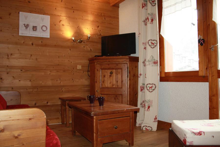 Location au ski Studio 4 personnes (017) - Résidence les Pierres Plates - Valmorel - Appartement