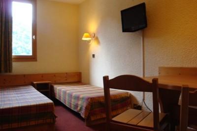 Location au ski Studio 4 personnes (019) - Résidence les Pierres Plates - Valmorel - Appartement
