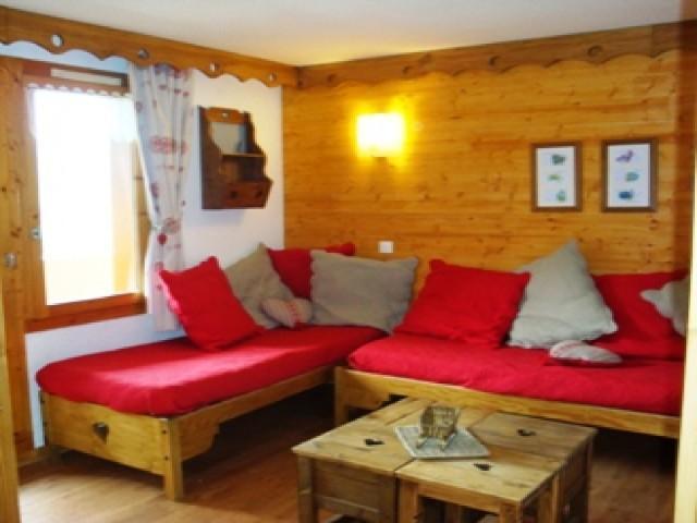 Location au ski Studio coin montagne 4 personnes (180) - Résidence les Pierres Plates - Valmorel - Séjour