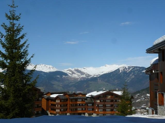 Location au ski Studio divisible 4 personnes (037) - Résidence les Teppes - Valmorel - Extérieur hiver