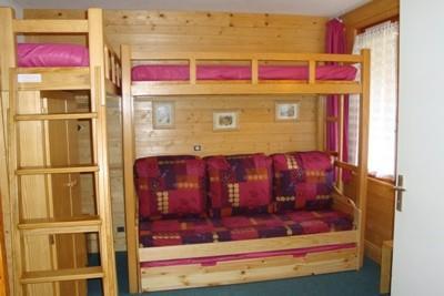 Location au ski Studio 4 personnes (24) - Résidence les Teppes - Valmorel - Lits superposés