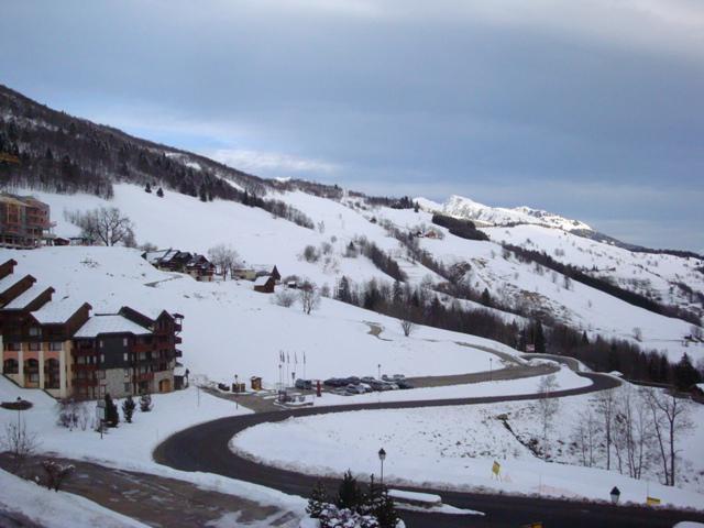 Аренда на лыжном курорте Résidence Valériane G - Valmorel - зимой под открытым небом