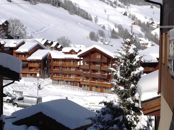 Аренда на лыжном курорте Апартаменты 3 комнат 4 чел. (118) - Résidence Valériane G - Valmorel - зимой под открытым небом