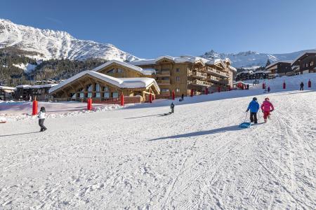 Location au ski Résidence Anitéa - Valmorel - Extérieur hiver