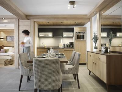 Rent in ski resort Résidence Anitéa - Valmorel - Dining area