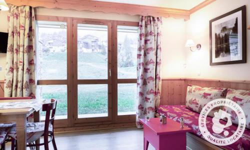 Vacances en montagne Appartement 2 pièces 5 personnes (Sélection 32m²) - Résidence Athamante et Valériane - Maeva Home - Valmorel - Extérieur hiver