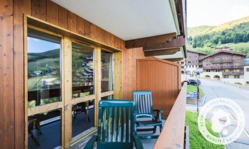 Vacances en montagne Appartement 2 pièces 5 personnes (Sélection 32m²-1) - Résidence Athamante et Valériane - Maeva Home - Valmorel - Extérieur hiver