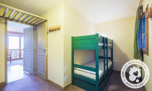 Vacances en montagne Studio 4 personnes (Sélection 28m²) - Résidence Athamante et Valériane - Maeva Home - Valmorel - Extérieur hiver
