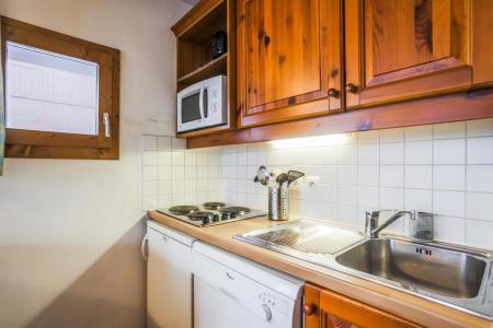Location au ski Appartement 2 pièces 4 personnes (006) - Résidence l'Athamante - Valmorel - Kitchenette