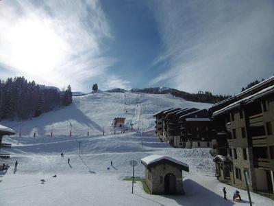 Location au ski Residence L'orgentil - Valmorel - Extérieur hiver