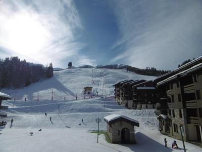Location au ski Résidence l'Orgentil - Valmorel - Extérieur hiver