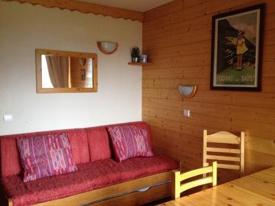 Location au ski Appartement 2 pièces 4 personnes (025) - Résidence l'Orgentil - Valmorel - Canapé-gigogne
