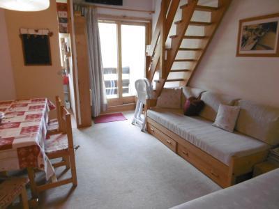 Location au ski Appartement 2 pièces mezzanine 6 personnes (047) - Résidence l'Orgentil - Valmorel - Séjour