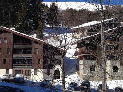 Location au ski Studio 4 personnes (005T) - Résidence la Buche - Valmorel - Extérieur hiver