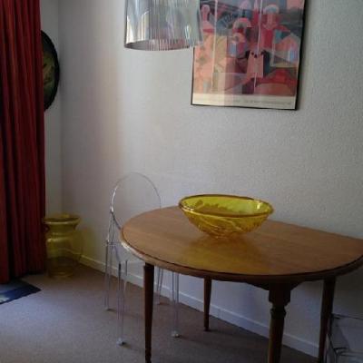 Location au ski Studio 2 personnes (21) - Résidence la Camarine - Valmorel - Table