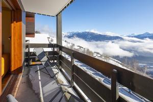 Location au ski Résidence la Duit - Valmorel - Extérieur hiver