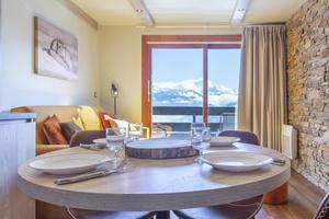 Location au ski Résidence la Duit - Valmorel - Table