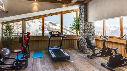 Location au ski Résidence la Grange Aux Fées - Valmorel - Espace fitness