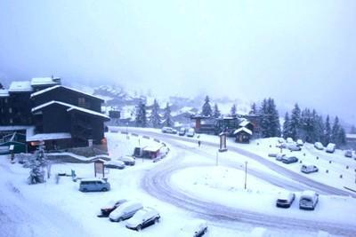 Vacances en montagne Appartement 3 pièces 7 personnes (038) - Résidence la Lauzière Dessous - Valmorel - Extérieur hiver