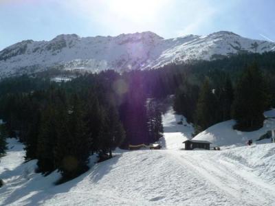 Vacances en montagne Appartement 4 pièces mezzanine 7 personnes (053) - Résidence la Lauzière Dessous - Valmorel - Extérieur hiver