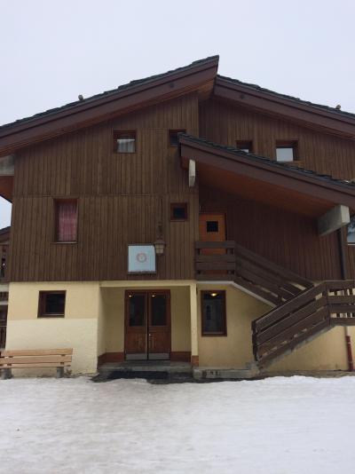 Vacances en montagne Appartement 2 pièces 5 personnes (012) - Résidence la Lauzière Dessous - Valmorel - Extérieur hiver