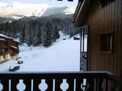 Location au ski Appartement 2 pièces 5 personnes (046) - Résidence la Lauzière Dessous - Valmorel - Balcon