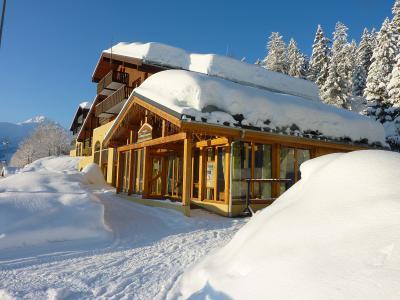 Location au ski Résidence le Beauregard - Valmorel - Extérieur hiver