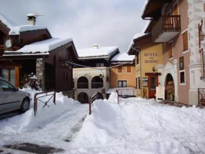 Location au ski Studio 2 personnes (23/2) - Résidence le Bourg Morel G - Valmorel - Extérieur hiver