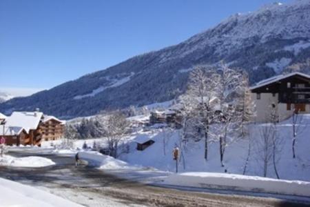 Vacances en montagne Résidence le Bourgeon - Valmorel - Extérieur hiver