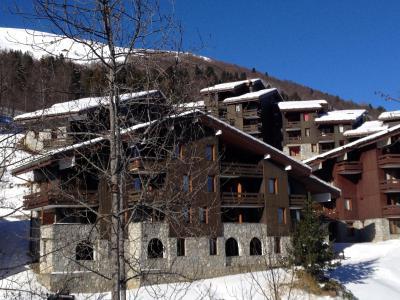Vacances en montagne Studio 4 personnes (009) - Résidence le Bourgeon - Valmorel - Extérieur hiver