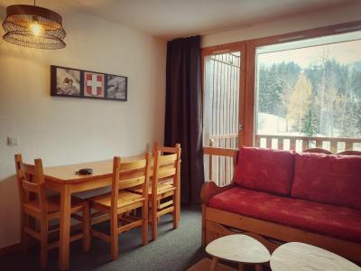 Location au ski Appartement 2 pièces 4 personnes (C30) - Résidence le Cheval Blanc - Valmorel - Séjour