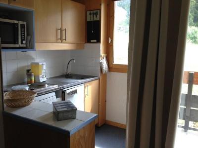 Location au ski Appartement 2 pièces 5 personnes (024) - Résidence le Cheval Noir - Valmorel - Kitchenette