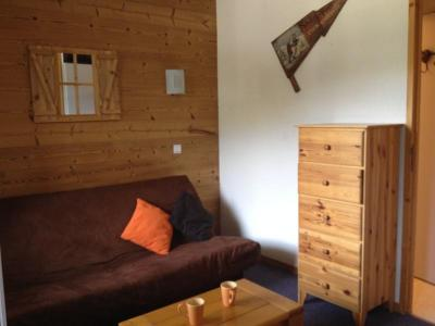 Location au ski Studio 3 personnes (016) - Résidence le Cheval Noir - Valmorel - Canapé