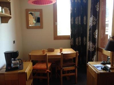 Location au ski Studio 3 personnes (016) - Résidence le Cheval Noir - Valmorel - Coin repas