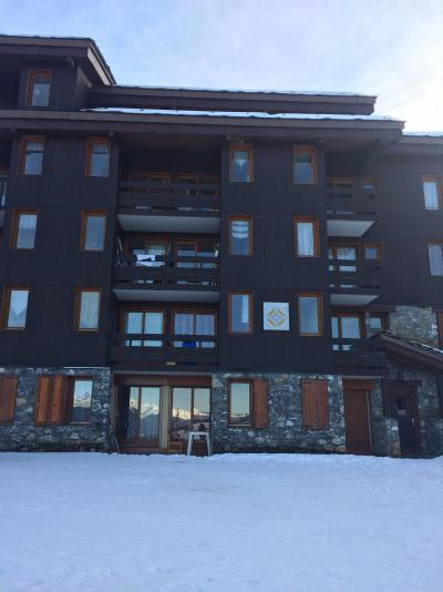 Vacances en montagne Résidence le Cristallin - Valmorel - Extérieur hiver