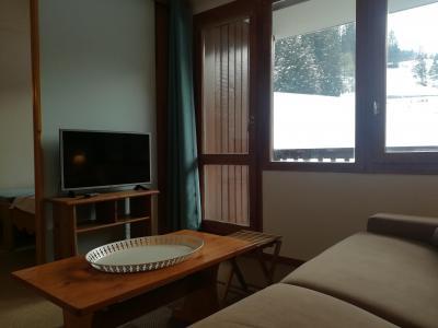 Location au ski Studio 4 personnes (037) - Résidence le Gollet - Valmorel - Banquette