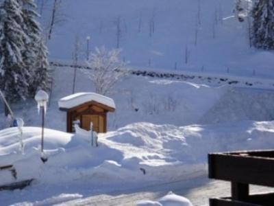 Vacances en montagne Résidence le Morel - Valmorel - Extérieur hiver