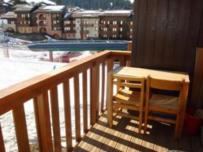 Location au ski Appartement 2 pièces 4 personnes (029) - Résidence le Pierrafort - Valmorel - Extérieur hiver