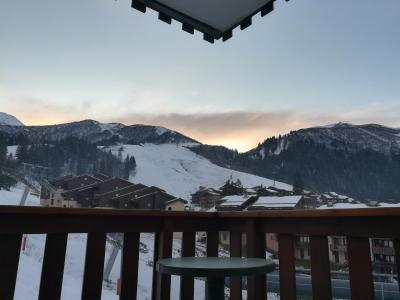 Location au ski Appartement 2 pièces 5 personnes (041) - Résidence le Pierrafort - Valmorel - Extérieur hiver